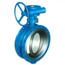 Triple offset Metal seated Butterfly Valve Bi-directional is available