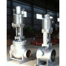 SQH Power Plant  Fast Closing Steam Extraction Check Valve With Pneumatic Actuator