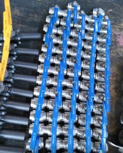 80pcs锻钢球阀,用于海上石油平台
