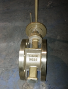 API609 butterfly valve Metal seated for sew water service