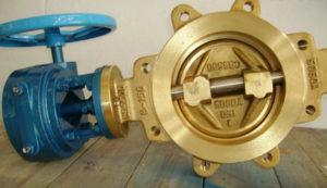 nickel-aluminum bronze butterfly valve Lug type